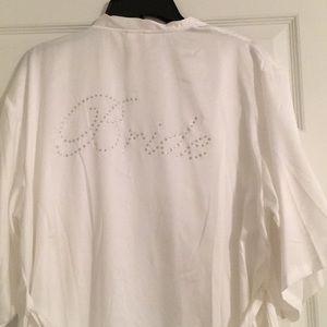 """""""Bride"""" robe"""